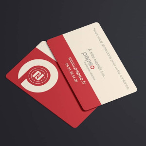 Carte de visite connectée nfc